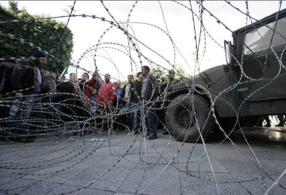 Tunesische leraren staken 'tot de regering aftreedt'