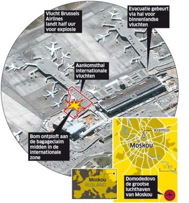'Voorlopig geen berichten over Belgische slachtoffers'