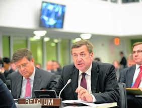 Minister van Buitenlandse Zaken Steven Vanackere.belga