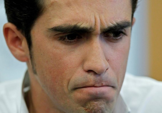 Contador aanvaardt schorsing niet