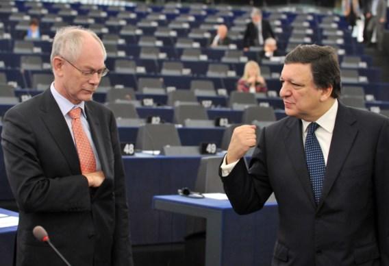Herman Van Rompuy en José Manuel Barroso worden eredoctor aan de UGent