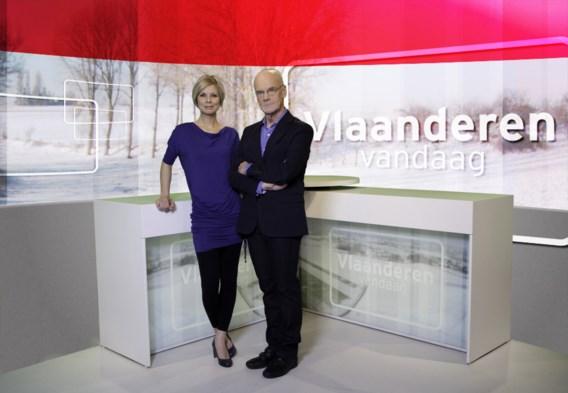 Dirk Tieleman presenteert dagelijks VT4-nieuws