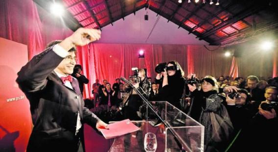 Di Rupo stuurde tijdens zijn nieuwjaarsreceptie aan op een regering van nationale eenheid. Jimmy Kets