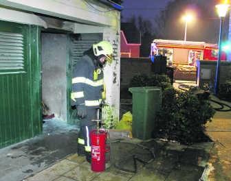 De schrik zit er in bij de bewoners na een nieuwe brand.Hendrik De Rycke
