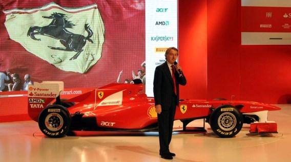 FOTO: Ferrari stelt de F150 voor