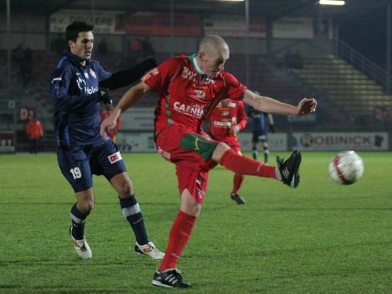 Oostende speelt gelijk tegen Bergen
