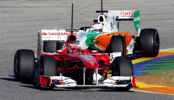 Alonso sneller dan Vettel in Valencia