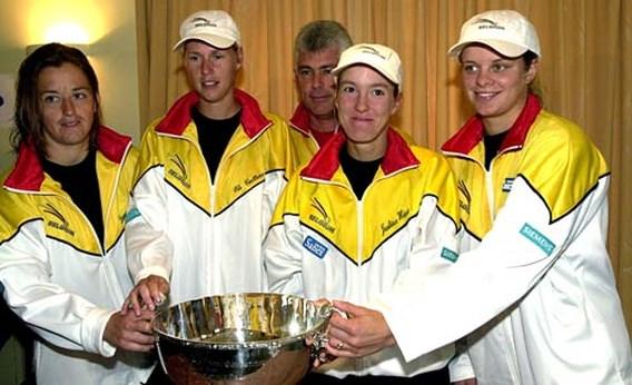 België ontvangt zondag trofee van 2001