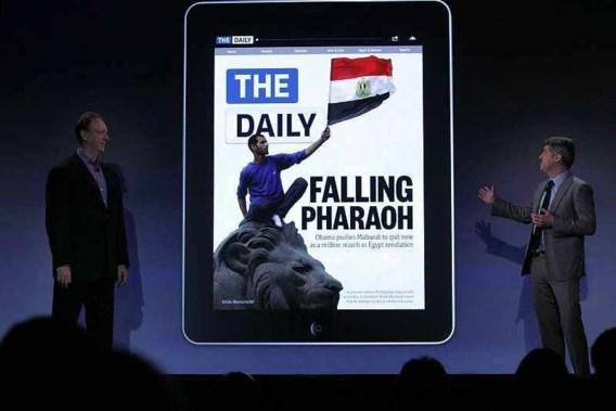 Murdoch presenteert eerste iPad-krant