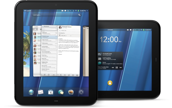 MWC: HP kondigt de TouchPad aan