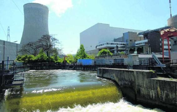 De Creg raamt de superwinst uit de kerncentrales in 2007 op meer dan 2miljard euro, Electrabel betwist dat.Raphael Demaret/photo news