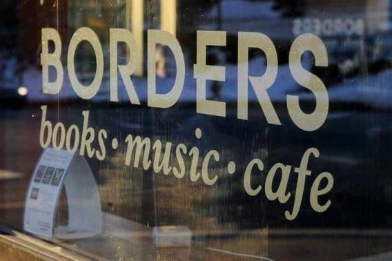 Amerikaanse boekhandel Borders in moeilijkheden