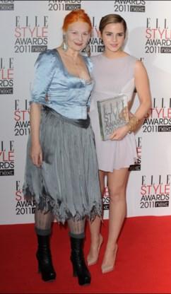 Emma Watson uitgeroepen tot stijlicoon