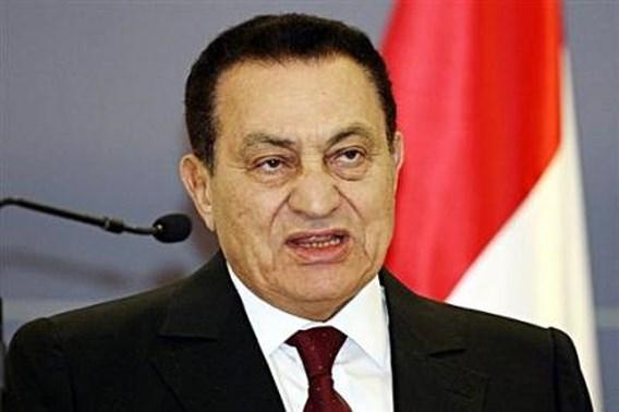 'Moebarak wil sterven in Egypte'