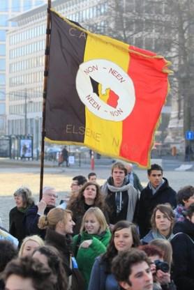 Frietrevolutie wordt gevierd op Poelaertplein