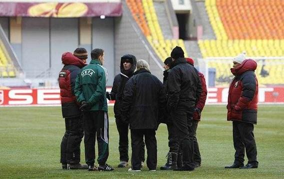 UEFA dwingt FC Twente om te spelen bij 17 graden onder nul
