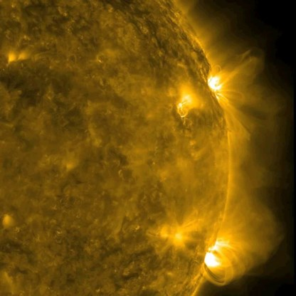 Gsm-operatoren verwachten geen problemen door zonnevlam