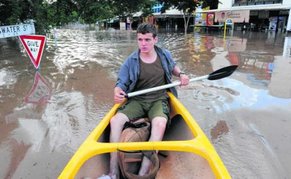 Brisbane in Australië kampte in januari met de grootste overstromingen in zijn geschiedenis.David Hunt/epa