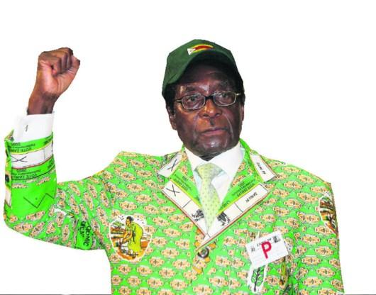 Robert Mugabe.epa
