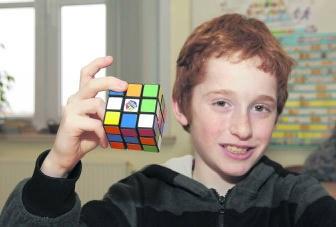 Ruben Pollet: 'Ik maak de kubus twintig keer per dag.'