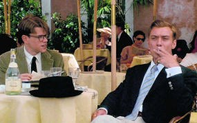 Matt Damon (links) en Jude Law in 'The talented Mr. Ripley'. rr