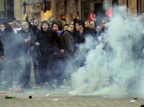 Belgische hooligans niet welkom in Eindhoven
