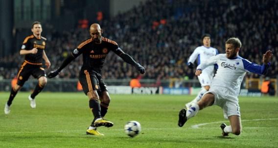 Anelka scoort tweemaal voor Chelsea in Kopenhagen