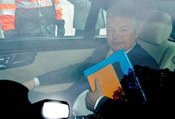 Di Rupo en De Wever morgen samen bij Reynders