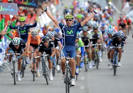 Francisco Ventoso wint derde etappe Ruta del Sol