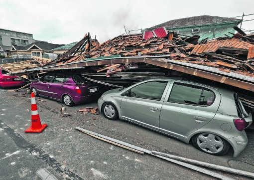 De aardbeving was de zwaarste natuurramp in Nieuw-Zeeland in 80 jaar.afp