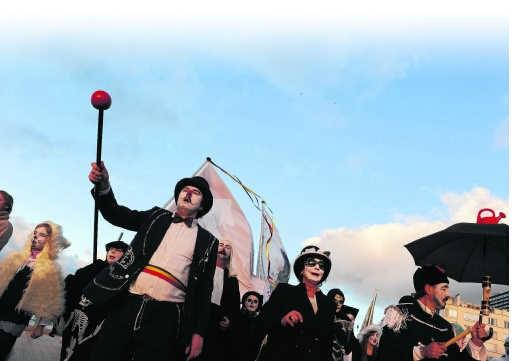 Het recreatieve en het artistieke liepen tijdens het cultuurjaar in Oostende vrolijk door elkaar. Danil de Kievith