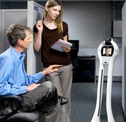 Robot vervangt werknemer op kantoor
