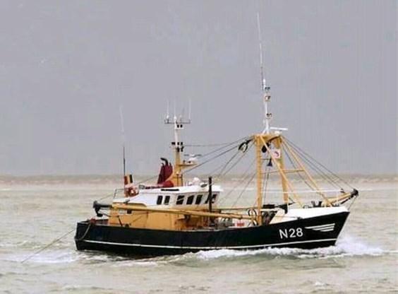 Vermiste vissers niet gevonden bij berging van boot