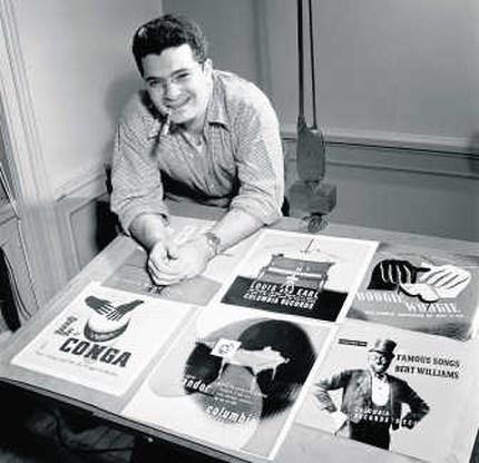 Alex Steinweiss, uitvinder van de artistieke platenhoes overleden