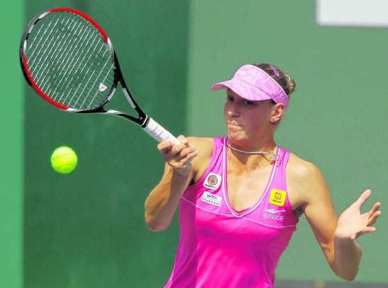 Yanina Wickmayer krijgt Elena Vesnina tegenover zich
