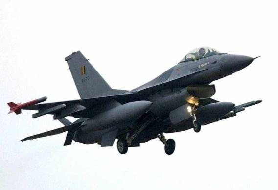 'Belgische F-16's klaar om te bombarderen'