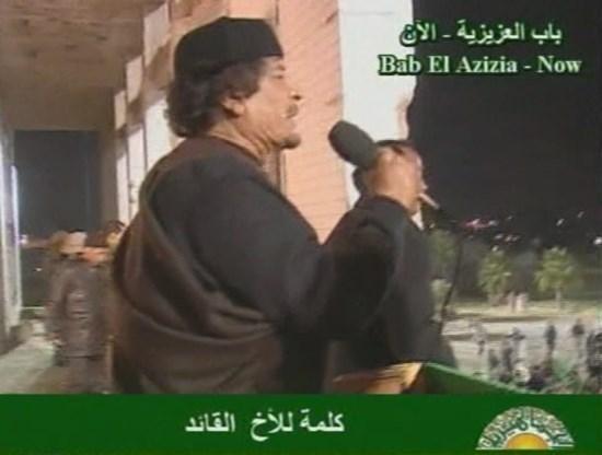 'Kadhafi op zoek naar vluchtwegen'