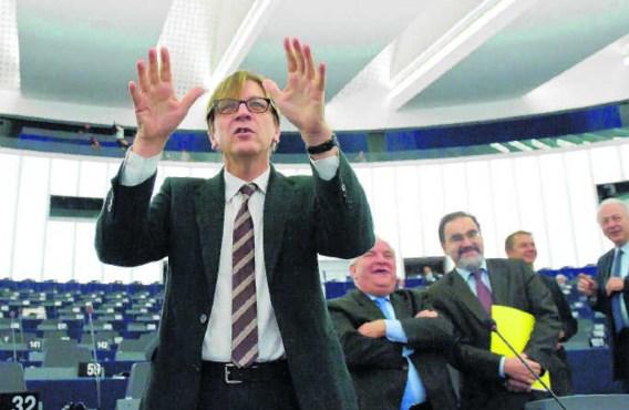 De Spinelli Groep, waarvan de liberaal Guy Verhofstadt een bezieler is, wil een federale Europese Unie. picture-alliance/Wiktor Dabkow