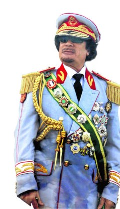 Moammar Kadhafi. epa