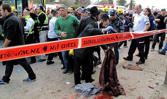 Dode bij bomaanslag in Jeruzalem