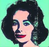 'Liz #5' van Andy Warhol. rr
