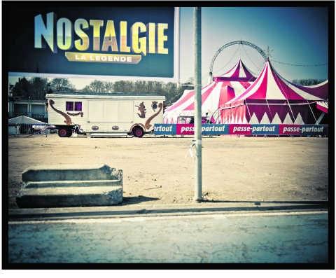 Een circus bovenop de Citadel van Namen.