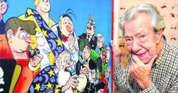 Striptekenaar Marc Sleen wordt ereburger van Hoeilaart