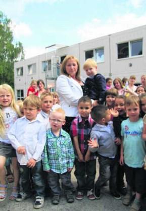 Directrice Frieda Luppens stelde al problemen vast op het vlak van luchtkwaliteit en isolatie.dbb