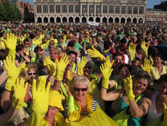 Honderd jaar Boerinnenbond gevierd in Leuven