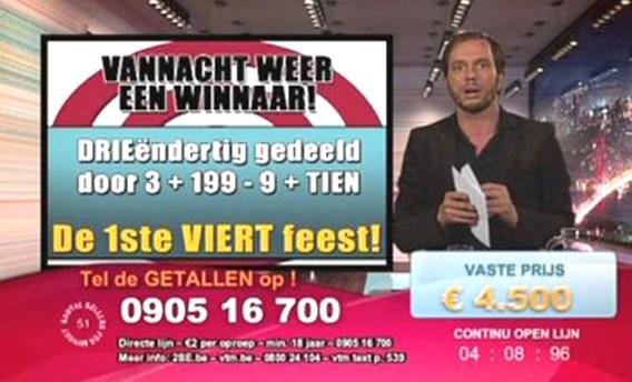 'Belspelpresentator' Maxime De Winne ondervraagd, Vmma nog niet