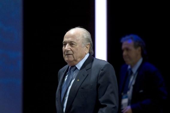 FIFA-voorzitter Blatter wil wedstrijdvervalsers levenslang schorsen