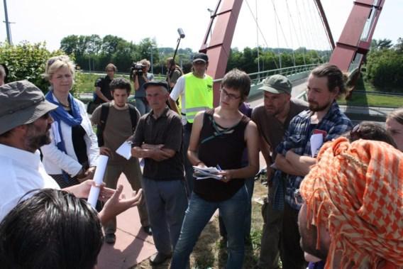 Actie tegen ontslag Barbara Van Dyck bij opening academiejaar