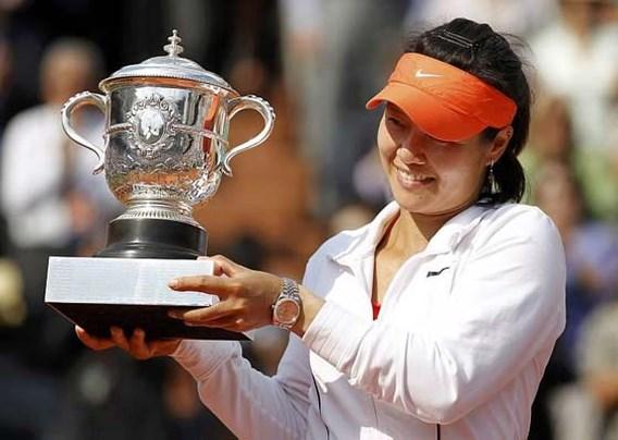 China beloont Roland Garros-winnares Li Na met 64.000 euro