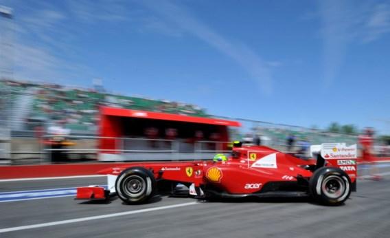 Vettel crasht in vrije oefenritten GP F1 van Canada, D'Ambrosio sneller dan Glock